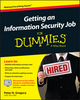 Getting an Information Security Job For Dummies (1119002621) cover image