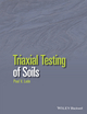 Triaxial Testing of Soils (1119106621) cover image