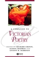 A Companion to Victorian Poetry (1405176121) cover image
