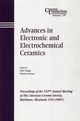 Advances in Electronic and Electrochemical Ceramics: Proceedings of the 107th Annual Meeting of The American Ceramic Society, Baltimore, Maryland, USA 2005, Ceramic Transactions, Volume 179 (1574982621) cover image