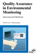 Quality Assurance in Environmental Monitoring: Instrumental Methods (3527615121) cover image