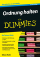 Ordnung halten für Dummies, 2. Auflage (3527695621) cover image