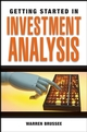 Getting Started in Investment Analysis  (0470456922) cover image