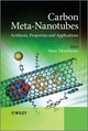 Carbon Meta-Nanotubes: Synthesis, Properties and Applications (0470512822) cover image
