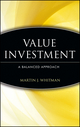 Value Investing: A Balanced Approach  (0471162922) cover image