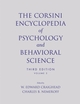 The Corsini Encyclopedia of Psychology and Behavioral Science, Volume 3, 3rd Edition (0471270822) cover image