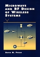 Microwave and RF Design of Wireless Systems (0471322822) cover image