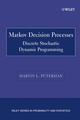 Markov Decision Processes: Discrete Stochastic Dynamic Programming (0471727822) cover image