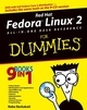 Red Hat Fedora Linux 2 All-in-One Desk Reference For Dummies (0764577522) cover image