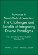 Advances in Mixed-Method Evaluation: The Challenges and Benefits of Integrating Diverse Paradigms: New Directions for Evaluation, Number 74 (0787998222) cover image