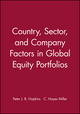 Country, Sector, and Company Factors in Global Equity Portfolios (0943205522) cover image