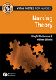 Vital Notes for Nurses: Nursing Models, Theories and Practice (1118305922) cover image