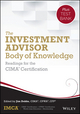 The Investment Advisor Body of Knowledge + Test Bank: Readings for the CIMA Certification (1118912322) cover image