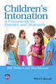 Children's Intonation: A Framework for Practice and Research (1118947622) cover image