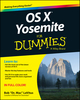 OS X Yosemite For Dummies (1118991222) cover image