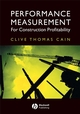 Performance Measurement for Construction Profitability (1405114622) cover image