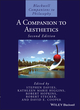 A Companion to Aesthetics, 2nd Edition (1405169222) cover image