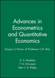 Advances in Econometrics and Quantitative Economics: Essays in Honor of Professor C.R. Rao (1557863822) cover image