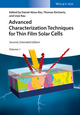 Advanced Characterization Techniques for Thin Film Solar Cells, 2 Volumes, 2nd Edition (3527339922) cover image