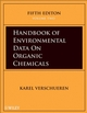 Handbook of Environmental Data on Organic Chemicals, Four Volume Set, 5th Edition (0470171723) cover image