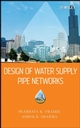 Design of Water Supply Pipe Networks (0470178523) cover image