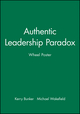 Authentic Leadership Paradox Wheel Poster (0470450223) cover image