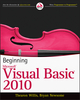 Beginning Visual Basic 2010 (0470502223) cover image