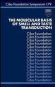 The Molecular Basis of Smell and Taste Transduction (0470514523) cover image