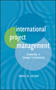 International Project Management: Leadership in Complex Environments (0470578823) cover image