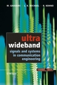 Ultra Wideband Signals and Systems in Communication Engineering (0470867523) cover image