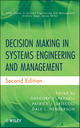 Decision Making in Systems Engineering and Management, 2nd Edition (0470900423) cover image