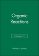 Organic Reactions, Volume 21 (0471196223) cover image