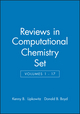 Reviews in Computational Chemistry, Volumes 1 - 17 Set (0471219223) cover image