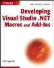 Developing Visual Studio .NET Macros and Add-Ins (0471237523) cover image