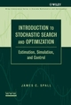 Introduction to Stochastic Search and Optimization: Estimation, Simulation, and Control (0471330523) cover image
