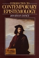 Introduction to Contemporary Epistemology (0631136223) cover image