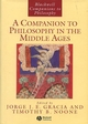 A Companion to Philosophy in the Middle Ages (0631216723) cover image