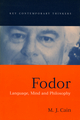 Fodor: Language, Mind and Philosophy (0745624723) cover image