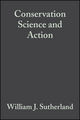 Conservation Science and Action (0865427623) cover image