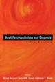 Adult Psychopathology and Diagnosis, 5th Edition (1118046323) cover image