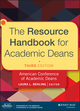 The Resource Handbook for Academic Deans, 3rd Edition (1118720423) cover image