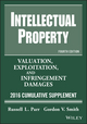 Intellectual Property: Valuation, Exploitation, and Infringement Damages 2015 Cumulative Supplement, 11th Edition (1118928423) cover image