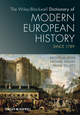 The Wiley-Blackwell Dictionary of Modern European History Since 1789 (1405189223) cover image