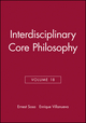 Interdisciplinary Core Philosophy, Volume 18 (1405192623) cover image