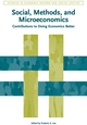 Social, Methods, and Microeconomics: Contributions to Doing Economics Better (1444350323) cover image