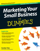 Marketing Your Small Business For Dummies, Australian and New Zealand Edition (1742168523) cover image