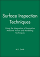 Surface Inspection Techniques: Using the Integration of Innovative Machine Vision and Modelling Techniques (1860582923) cover image
