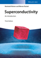 Superconductivity: An Introduction, 3rd Edition (3527411623) cover image