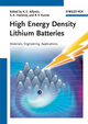 High Energy Density Lithium Batteries: Materials, Engineering, Applications (3527630023) cover image