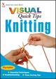 Knitting VISUAL Quick Tips (0470077824) cover image